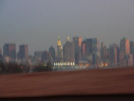 NYC from a moving car by KaraSkirata