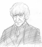 Third Doctor sketch by infiniteviking