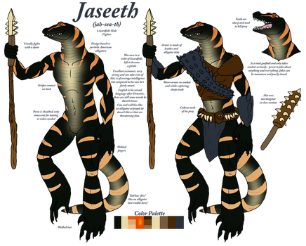 Jaseeth the Fighter by Felis-Draconis