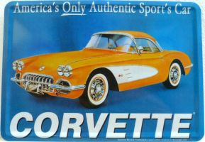 Classic Chevrolet Corvette Advertisment by someoneabletofindana