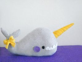 George the Huge Narwhal by casscc