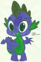 Spike, Claw Drawn?, In Color by Ratchet-Wrench