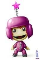 My Sackboy by RocioGarciaART