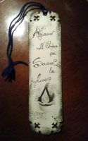Assassin Bookmark *ON SALE* by FlaminiaKennedy