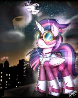.:Purple knight rises:. by Gamermac