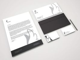 My Identity System Design - Mockup Done by JKMeiLinh