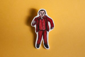 The Man from Another Place, from Twin Peaks brooch by stardixa