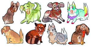 A bunch of little cutie-pies by karby-licious