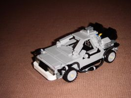 DeLorean from Back to the Future by BrigadierDarman