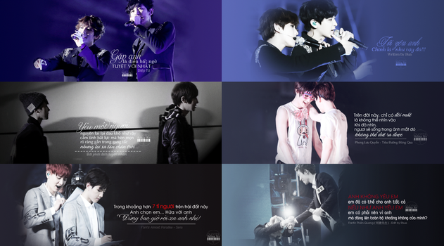 Quotes - Falling for ChanBaek by Rabbit0502