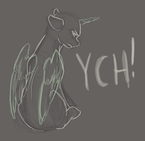 Cold Shoulder YCH - [closed] by aHorseForEverySeason