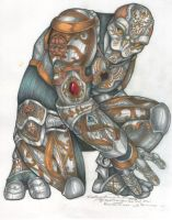 Warforged- Colored by endejester
