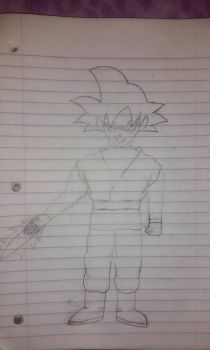 Goku black (work in progress) by primeomega97