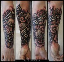 Mantra halfsleeve by grimmy3d