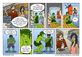 IRL P6: It's Not Easy Being Green by DanielleJensen