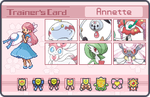 Annette Trainer Card - Animated by FlantsyFlan