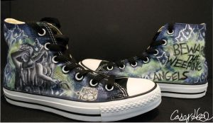 Blink Inspired Shoes by caseyhoke