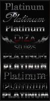 Styles for Photoshop Platinum by DiZa-74