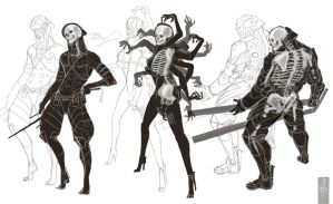 Metal Gear Rising BONES by arok318