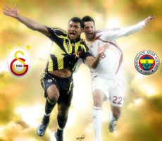 Galatasaray Fenerbahce Derbisi by arselife