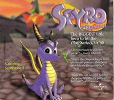 Spyro preview 1998 PSU 2-3 by Axel-The-Dragon