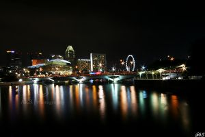 Singapore by night by ahmedwkhan