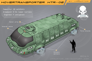 HoverTransporter HTR-02 Colored by vpRaptor