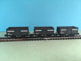 N Gauge Rolling Stock - Trucks by JennyRichardBlakina