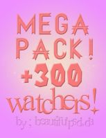 +Mega Pack +300 Watchers by RespectToYou