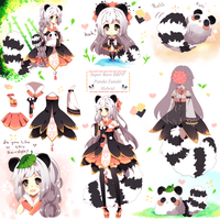 SketchPageBBPP PandaTanuki Auction[Closed] by Maruuki