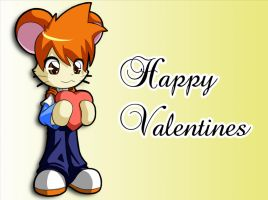 Hamtaro Valentines greeting by pakwan008