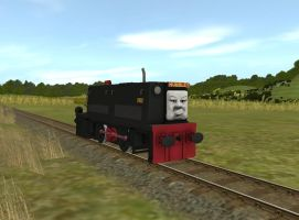 The Disgruntled Shunter by OkamiTakahashi