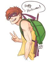 Halloween 2015-Connor by Yami08
