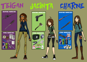 Post Apocalyptic Bae's by F0XEH
