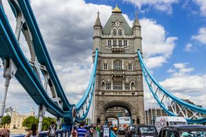 Crossing the Tower Bridge by CyclicalCore