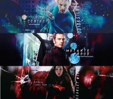 Quicksilver / Magneto / Scarlet Witch by LaliPattinsonFenty