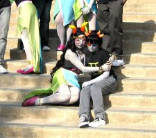 CTcon: Sollux and Feferi by FlamingSerpent