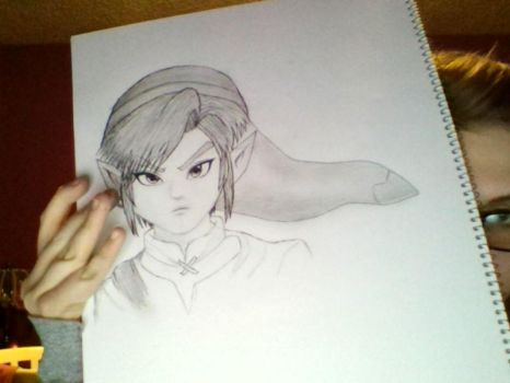 Link Drawing started. by BieberMyBalls13