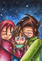 Warm Snowflakes by AimaiLeafy