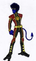 Nightcrawler-Redesign by chibikasai