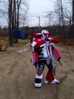 Tfp ratchet cosplay by ForgottenHope547