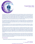 Purple Moon Journal Skin by Endorell-Taelos