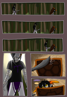 Fatal Gambit round 1 page 3 by GlowingBunny