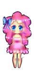 MLP Human Chibi Pinkie Pie by xKittyblue