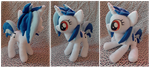 .: Vinyl Scatch Plush :. by Fallenpeach