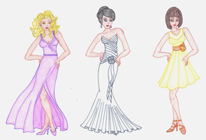 Some dresses by December012