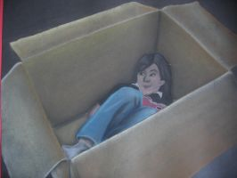 Me in a box by crackerboxx