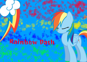 Rainbow Dash Wallpaper. by xXIceblastofRCXx