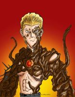 Wesker Mutant Color by samanosuke89