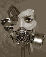Gas Mask from the Past by lolbotamy